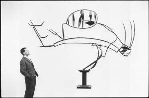 Ugo Mulas, Alik Cavaliere, Biennale, Venezia, 1958